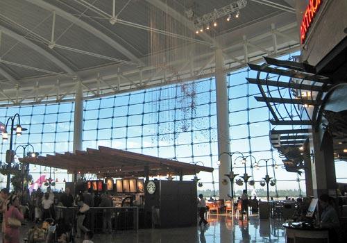 Seattle-Tacoma airport, main terminal